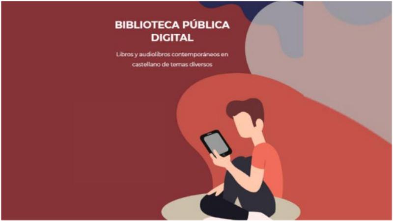 Biblioteca Nacional lanza plataforma digital para préstamo gratuito de libros |FOTOS